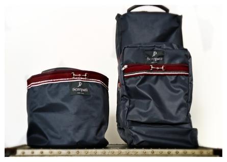 // Cap holder & Boots bag //